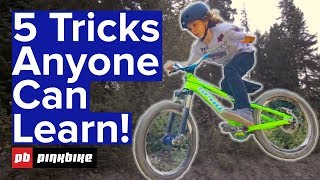 Video 5 Easy Tricks To Learn On A Bike With Jackson Goldstone download MP3, 3GP, MP4, WEBM, AVI, FLV September 2018
