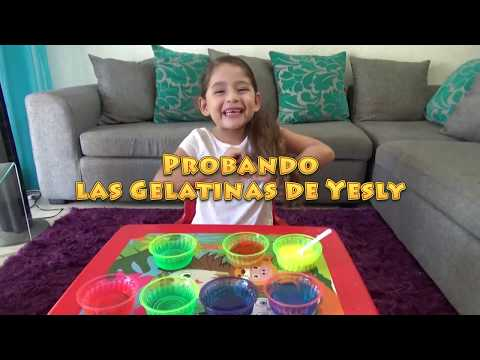 GELATINAS DE YESLY | MUY SABROSAS