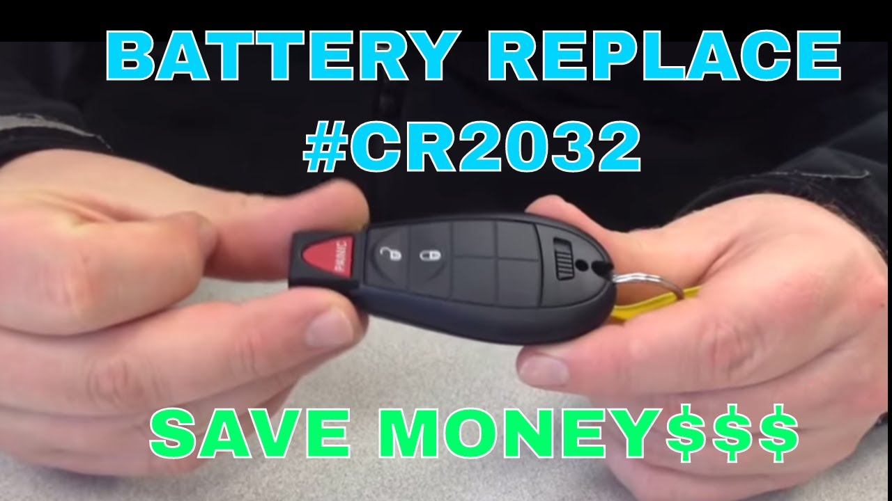 Battery Replacement Key Fob Cr2032 Youtube