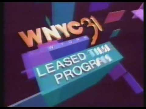 WNYC New York Leased Time Program / Rai America logo (May 11, 1994)