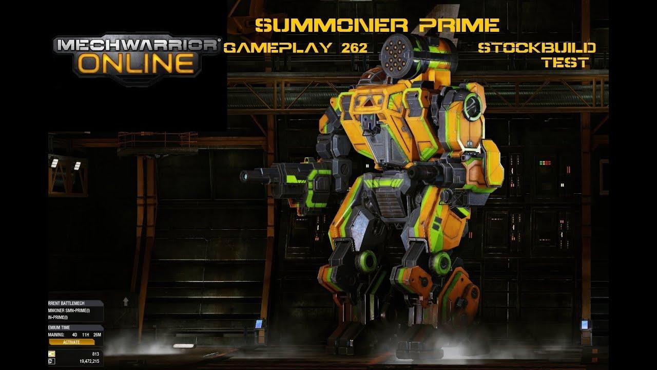 Mechwarrior Online - Summoner SMN-D - 2x C-ULTRA AC 5 & C-ER-MED ...