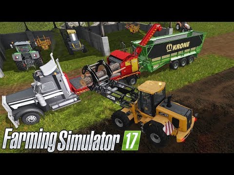 CAMION BSM 850 + CIPPATRICE RABAUD XYLOCHIP 500T #208 - FARMING SIMULATOR 17 GAMEPLAY ITA
