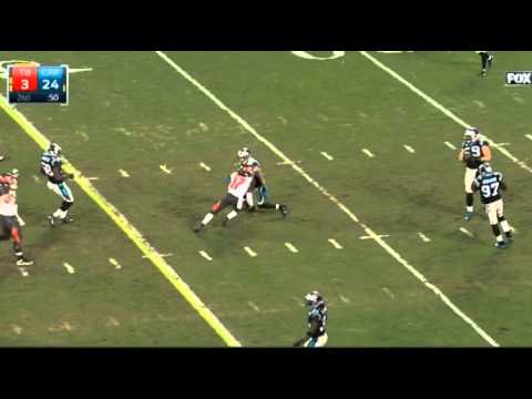 Cortland Finnegan Big Hit On Bucs WR Donteea Dye