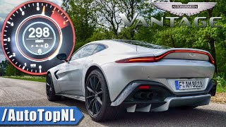 NEW! Aston Martin Vantage 0-298km/h ACCELERATION & LAUNCH CONTROL by AutoTopNL