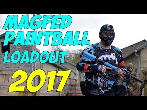 Magfed Paintball Loadout - 2017
