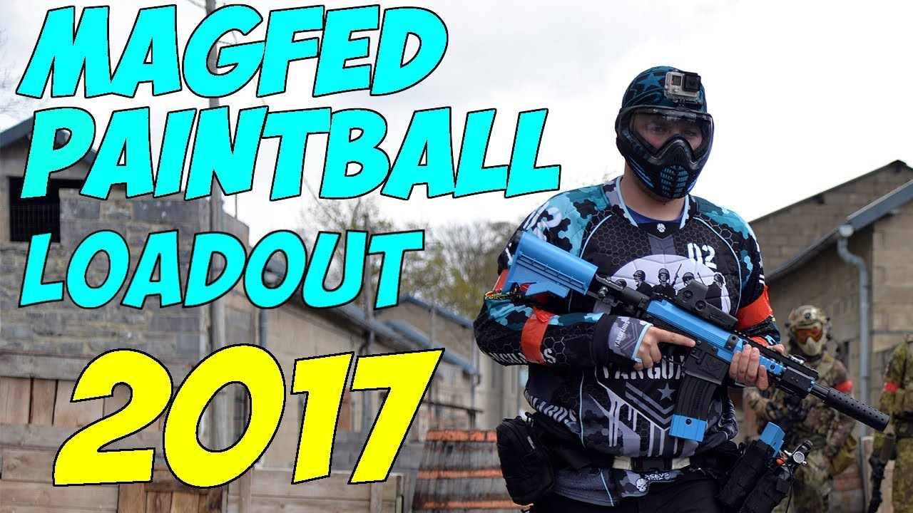 Magfed Paintball Loadout 2017 Youtube