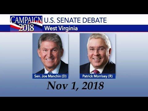 West Virginia Senate Debate Joe Manchin vs Patrick Morrisey Nov 1, 2018