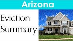 Arizona Eviction Laws for Landlords and Tenants
