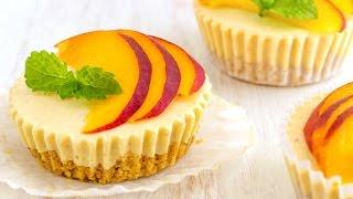 No Bake Peach Cheesecake Bites Recipe  HappyFoods