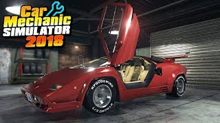 BUYING A LAMBORGHINI - Car Mechanic Simulator 2018
