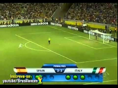 Spain vs Italy 7 6   All Penalties   Comfederações Cup 2013