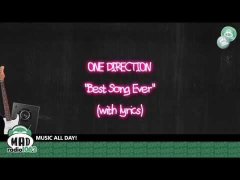 """One Direction - """"Best Song Ever"""" (with lyrics)"""