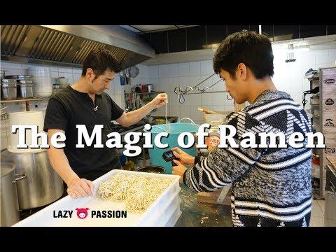 The Magic of Ramen - Yokohama Ramen Saito