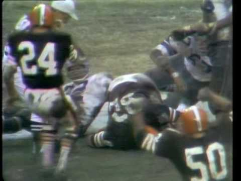 1969 NFL playoffs: Cleveland Browns vs Dallas Cowboys (rare videotape highlights)