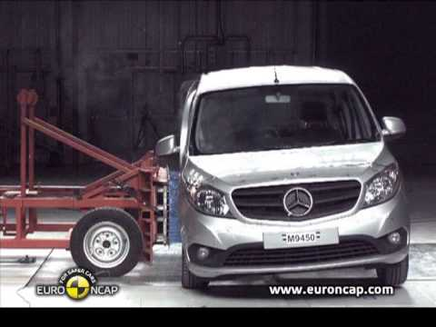 mercedes citan kombi euroncap arp ma testi sonu videosu. Black Bedroom Furniture Sets. Home Design Ideas