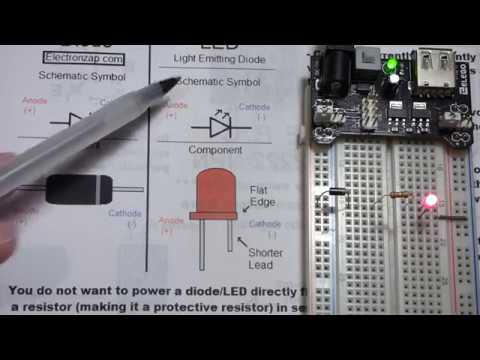 Diode and LED component basic usage properties explained for ...