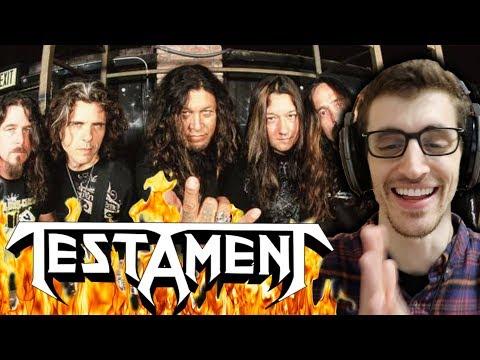 "ABCs of Metal - [T] - TESTAMENT - ""Souls of Black"" REACTION"