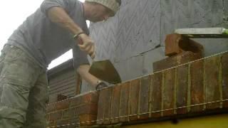 the fine art of brickwork - Soldier course
