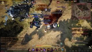 Black Desert Ogre Fest Gameplay - Kunoichi: Sausan Grid lv 50-51
