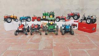 All companies  tractors unboxing // toytractors video