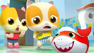 肚子痛痛上廁所 | 好習慣兒歌童謠 | 卡通 | 動畫 | 寶寶巴士 | BabyBus