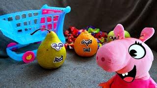 Фруто-монстры - Влог Пиги и как бы живых зверей
