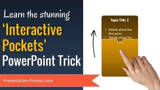 PowerPoint Tutorial to Create Stunning Interactive Pockets (Animation Trick)