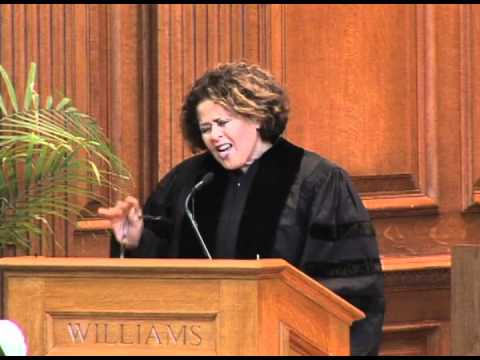 Anna Deavere Smith: Williams College Baccalaureate Address 2012