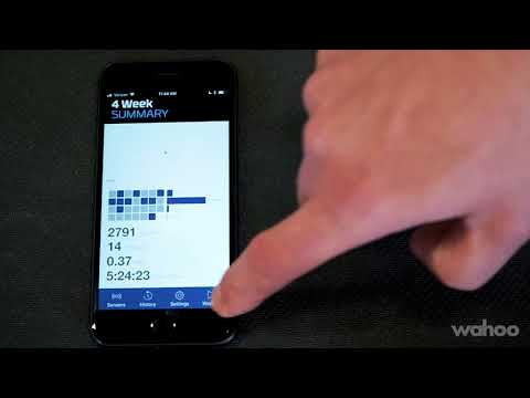 How Do I Use the Wahoo Fitness App for iOS? - KICKR & SNAP Indoor Trainers