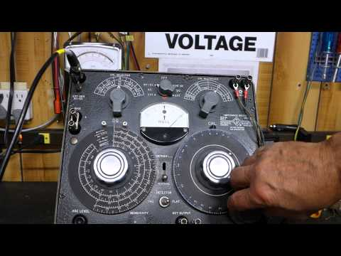 Vacuum Tube Audio Transformer Impedance Determined With General Radio Impedance Bridge