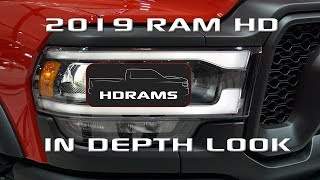 HDRams: We explore the 2019 Ram 2500 and Ram 3500 at the Canadian International Autoshow