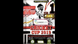 LUMERC LED CRICKET CUP 2019  GOA,PANJIM DAY 2