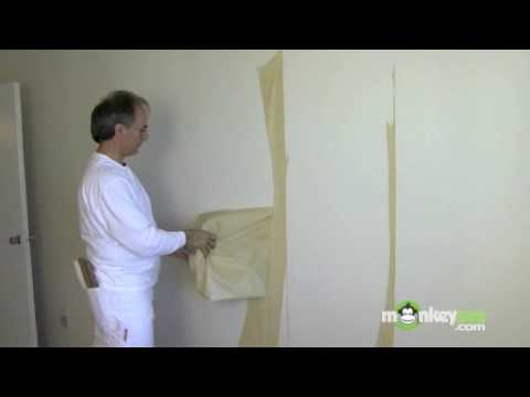 best way to remove wallpaper paste from plaster walls