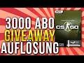 Counter Strike Global Offensive - Giveaway [Steam Gift] - [AUFLÖSUNG] - 3000 Abonnenten Special