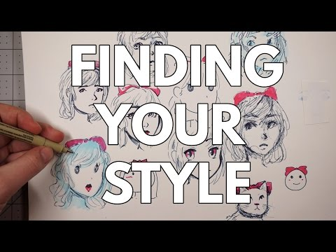 Finding Your Drawing Style + Sketching