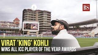 Virat 'King' Kohli wins all ICC player of the year awards
