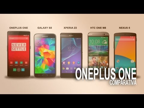 OnePlus One, comparativa con Galaxy S5, Xperia Z2, HTC M8, Nexus 5