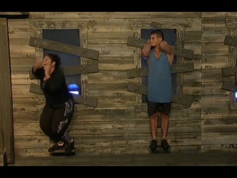 Big Brother 21 Live Feed Highlight: Jessica's Dramatic Fall