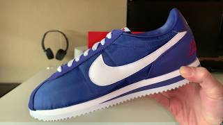 separation shoes 3def7 334f2 Nike Cortez Basic Los Angeles Blue Review!