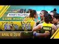 UAAP 81 WV: NU vs. FEU | Game Highlights | April 10, 2019