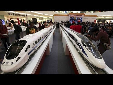 China to help build high-speed train project in Indonesia