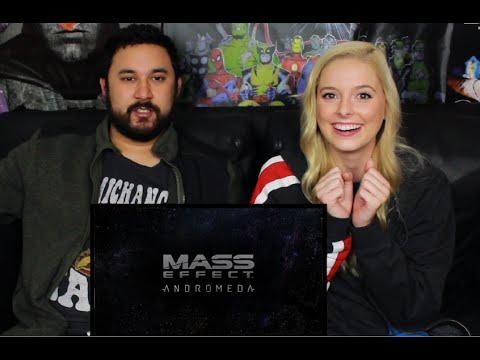 MASS EFFECT ANDROMEDA TRAILER (E3 2016) REACTION & REVIEW!!!!