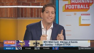 Good Morning Football: NFC Wild Card Weekend - Vikings at Saints; What Determines The Outcome?