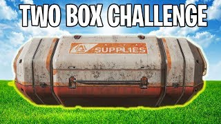 TWO BOX CHALLENGE! (Extremely Hard...) | Apex Legends