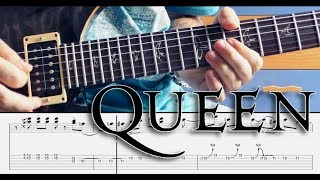 Queen - Crazy Little Thing Called Love Solo Lesson w/TABS