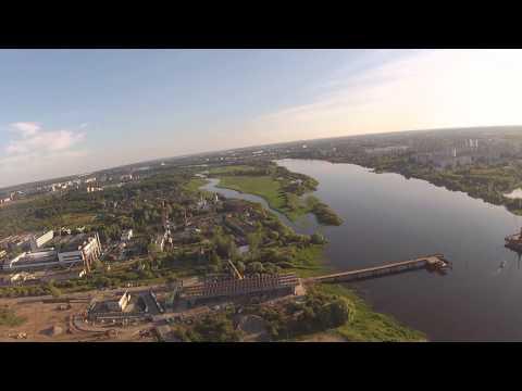 Великий Новгород с высоты - Колмово