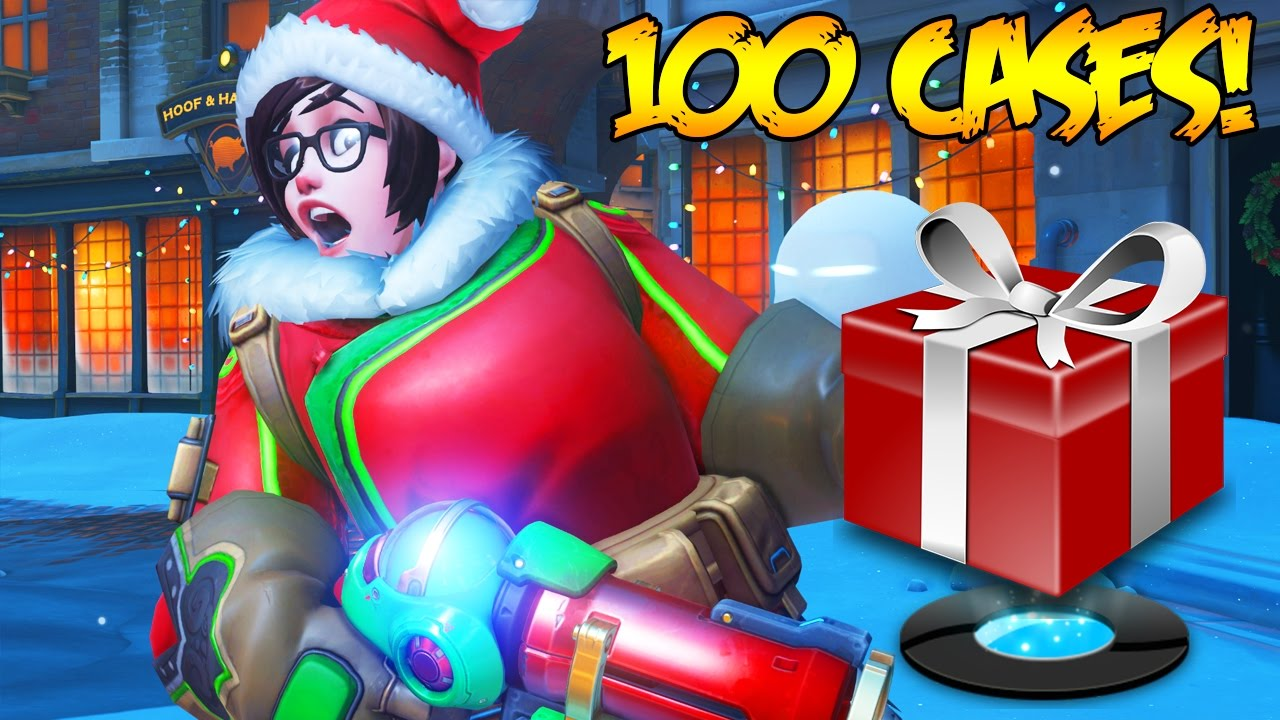 Overwatch Christmas.Overwatch 120 Holiday Skins Unboxing Gameplay Overwatch Christmas Seasonal Holiday Update