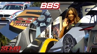 BBS at SEMA 2016.  Get a glimpse inside the awesome events at SEMA and the display of aftermarket wheels that BBS offers.  For more information about BBS Wheels, call us at 770-967-9848, or email sales@bbs-usa.com.  Visit us on line at http://www.bbs-usa.