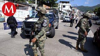 Civiles armados retienen a Guardia Nacional en Guerrero