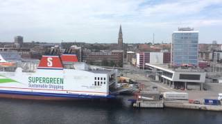 Departure from Kiel 07.07.2015 - part 1
